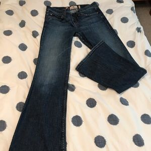 Juicy Couture Low Rise Flared Jeans